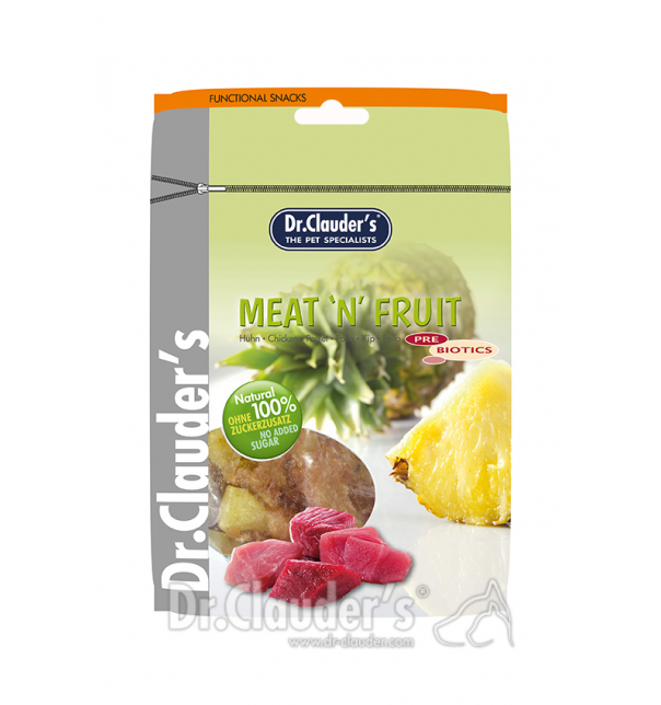 Dr. Clauders Meat n Fruit - Ananas & Hühnchen 80g