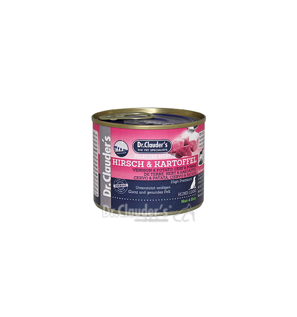 Dr. Clauder Selected Meat Hirsch & Kartoffel 200g