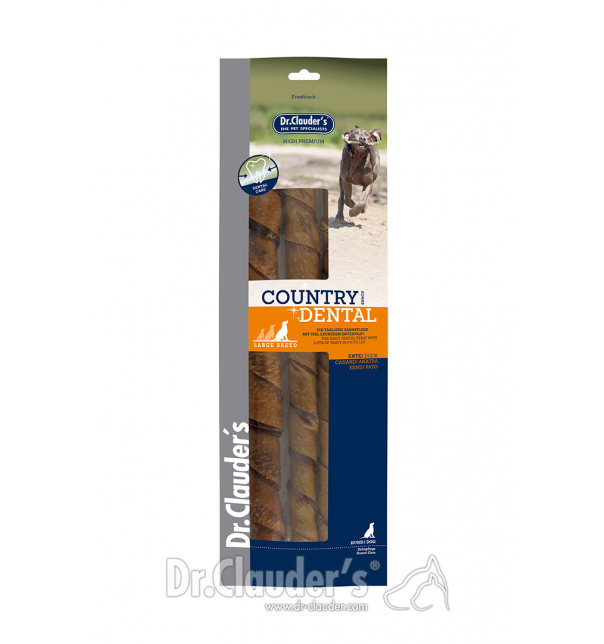 Country Line Dental Snack Duck large breed 315g
