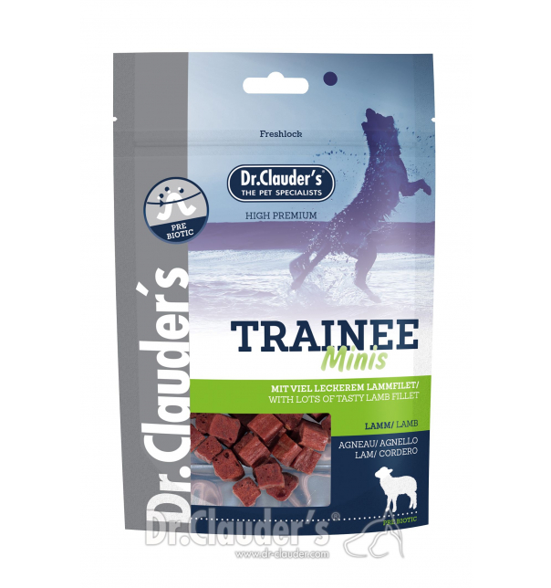 MINI Lamm - Trainee Snacks 50g (100% Fleisch)