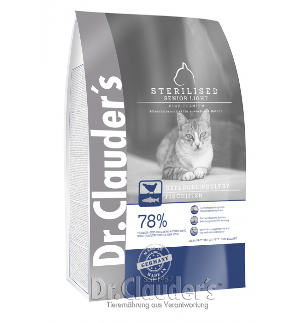 High Premium Katze - Sterilised  | Light | Senior 1,5kg