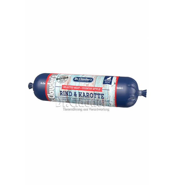 Country Wurst Rind & Karotte 800g