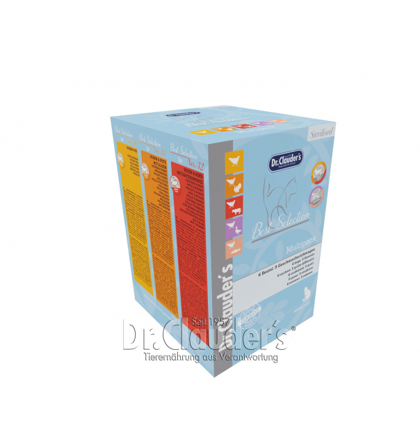 Best Selection Multipack Sterilized  (Standbeutel) 6 x 85g